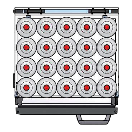 Flexbar 54 segmenten, per plateau: 20 x 200 cl
