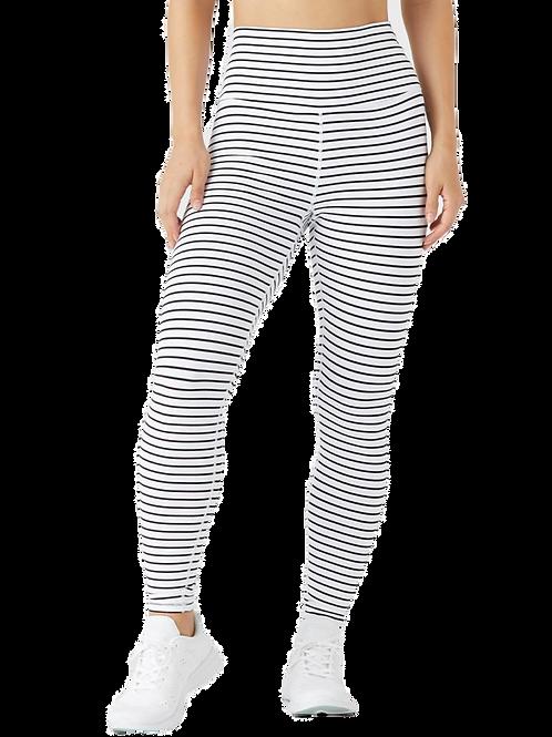 Glyder - High Power legging - white & black stripe