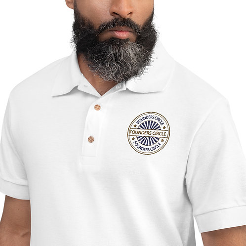 FC-Embroidered Polo Shirt