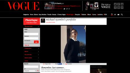 Photo Publication on Vogue.it