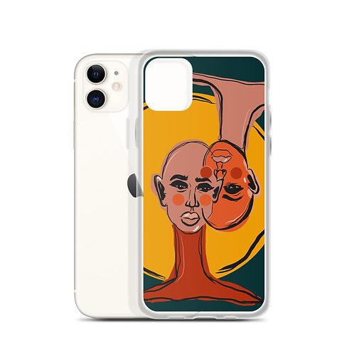 One Mind (iPhone Case) by Kasey Burkhart