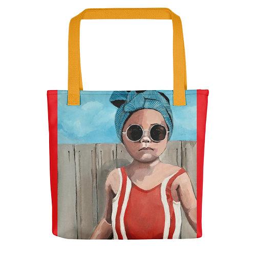 "Sabrina Cabada ""Swim Baby"" (Tote bag)"