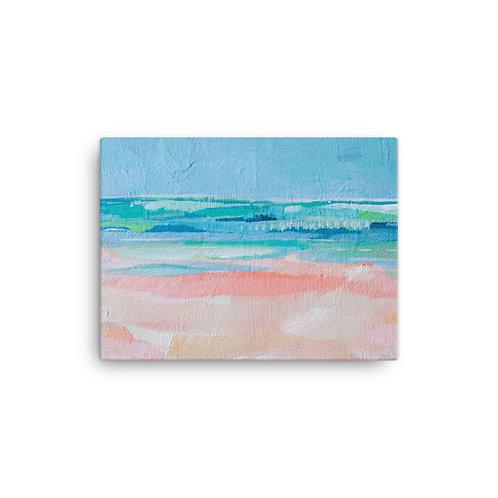 """Megan Elizabeth """"Bermuda"""" (Canvas Giclee)"""