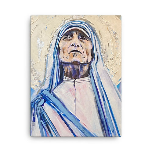 Mother Teresa (Canvas Giclee)