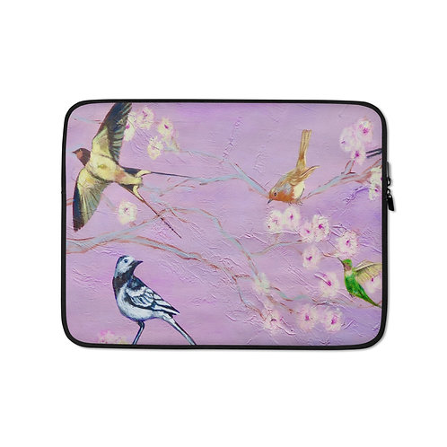 "Carol Greenwood ""Glen Garden"" (Laptop Case)"