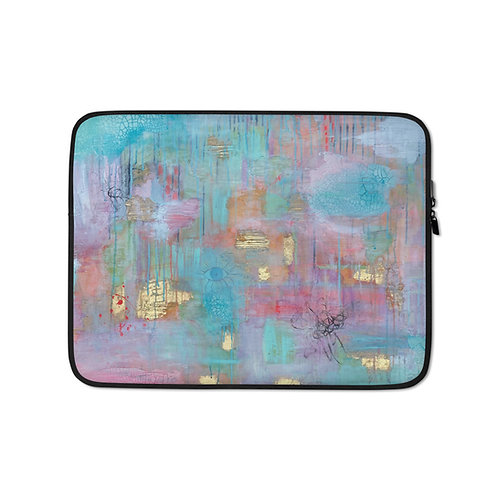 Layers of Self (Laptop Case) by Sarah Renzi Sanders