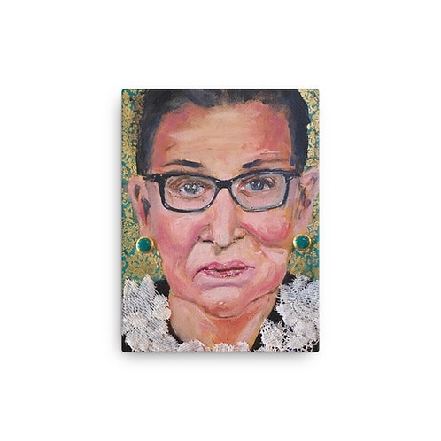 "Angie Meche Kilcullen ""RBG #2"" (Canvas Giclee)"