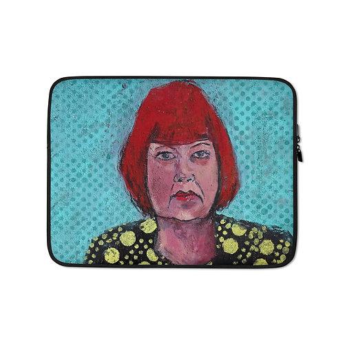 "Iris van Zanten ""The Artist"" (Laptop Case)"