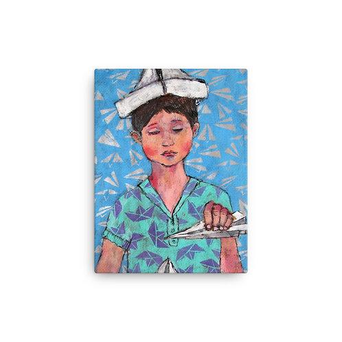 "Iris van Zanten ""I'm the King of the World"" (Canvas Giclee)"