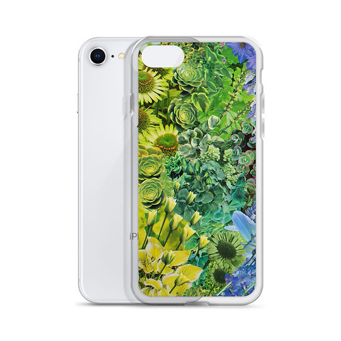 "Rachel Newell ""Rainbow in Bloom 1"" (iPhone Case)"