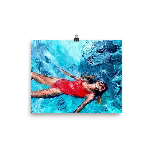 """Angela Lubinecky """"Free Floating"""""""