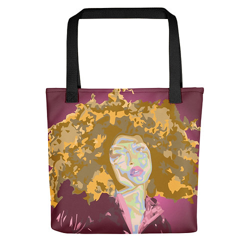 """Jay Clark """"Don't Touch My Hair"""" (Tote bag)"""