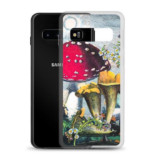 "Rachel Newell ""Mushrooms and Blooms"" (Samsung Case)"