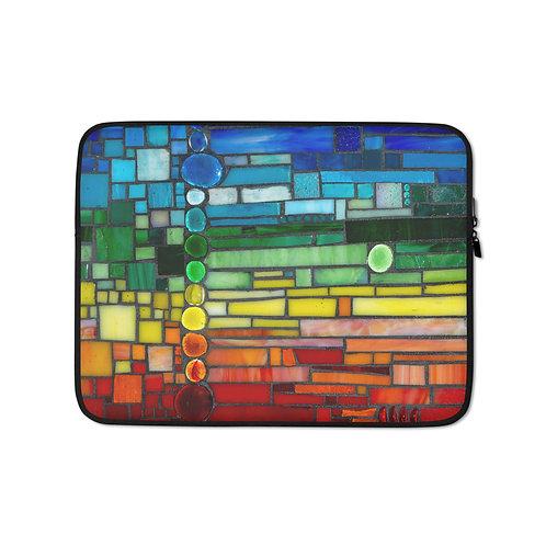 """Katie McMurry """"Dark Rainbow"""" (Laptop Case)"""