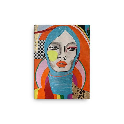 "Ana Sneeringer ""Golden Life"" (Canvas Giclee)"