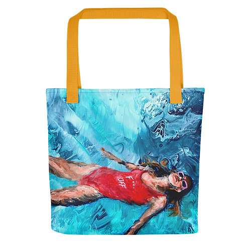 "Angela Lubinecky ""Free Floating"" (Tote Bag)"