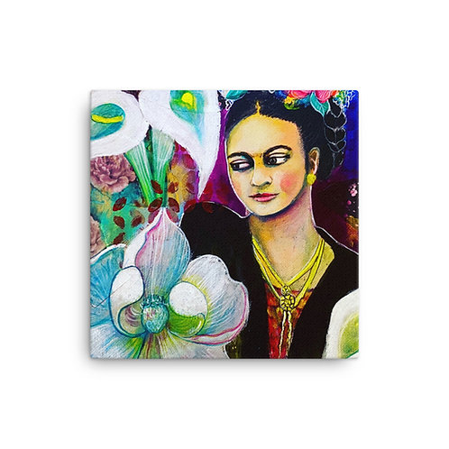"Lola Burgos ""Frida"" (Canvas Giclee)"