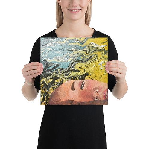 """Ghia Haddad """"Floating"""" (Canvas Giclee)"""