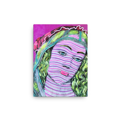 """Tracy Brown """"Botticelli Re-write"""" (Canvas Giclee)"""