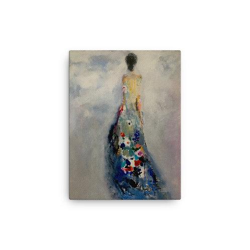 "Carmen Marin ""On Her Way"" (Canvas Giclee)"
