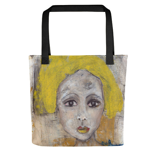 """Vicki Sullivan """"Marigolds"""" (Tote bag)"""