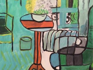 Matisse and merlot!