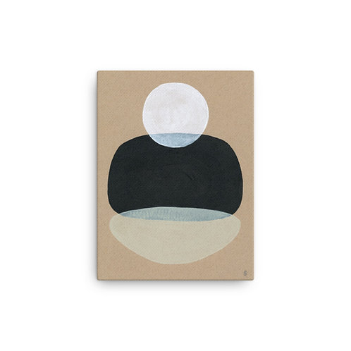 """Angela Seear """"Moonscape"""" (Canvas Giclee)"""