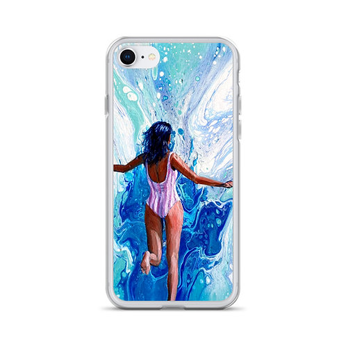 """Angela Lubinecky """"Dreaming of Diani Beach"""" (Iphone Case)"""