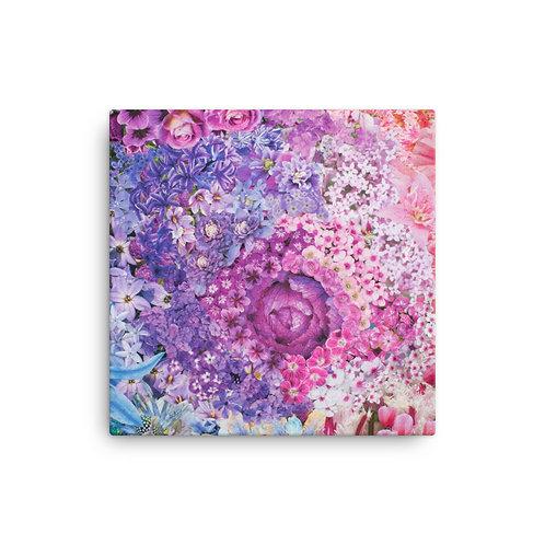"Rachel Newell ""Rainbow in Bloom 2"" (Canvas Giclee)"