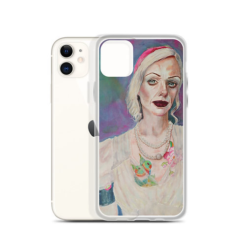 Tatted Woman (iPhone Case) by Kathy Shorkey
