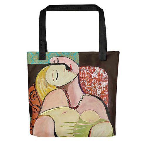 Chasing Picasso Tote bag