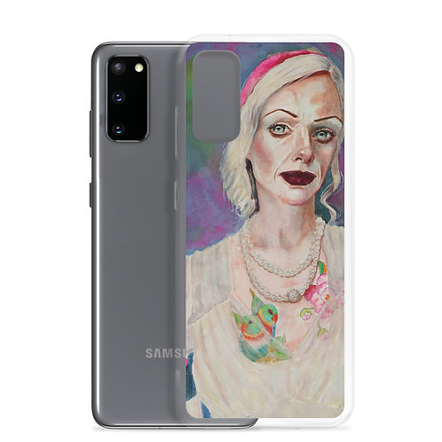 Tatted Woman (Samsung Case) by Kathy Shorkey