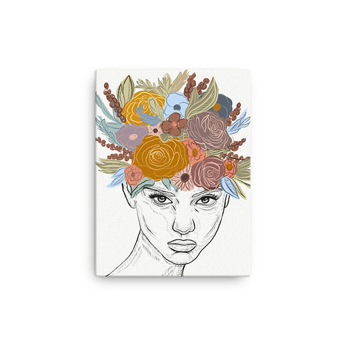 Bloom (12x16 inch Canvas Giclee) by Kasey Burkhart