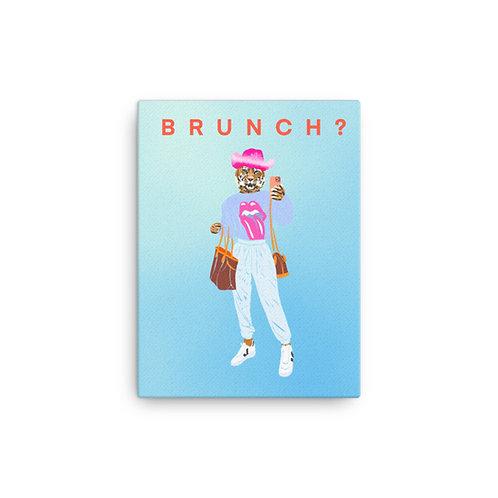 "Caroline Pryce Martin  ""Brunch Club 2"" (Canvas Giclee)"