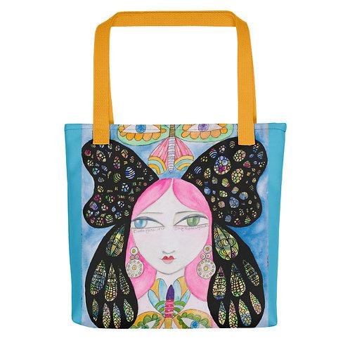 "Jennifer Betlazar ""Butterfly Girl"" (Tote bag)"