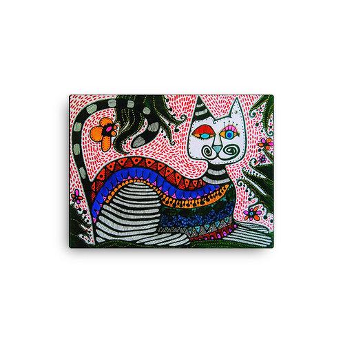 Gato Loco (Canvas Giclee) by Sandra Perez-Ramos