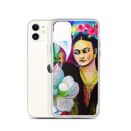 Frida (iPhone Case) by Lola Burgos