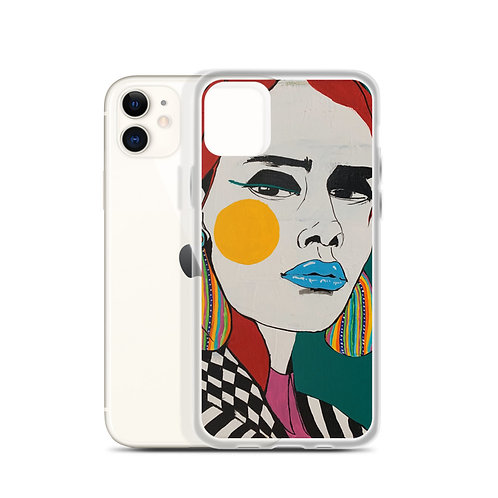 Some women fear the fire, some simply become the fire (iPhone Case) A.Sneeringer