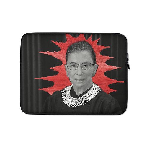 """Elise Benetreau """"Ruth RBG"""" (Laptop Case)"""