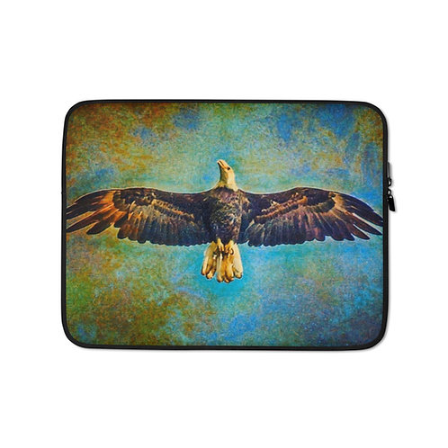 "Diane Poole ""Eagles Flight on the Occoquan"" (Laptop Case)"