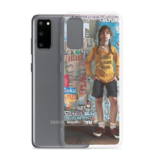 "Rosso Emerald Crimson ""Young Climate Rebel"" (Samsung Case)"