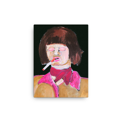 "Tracy Brown ""Too Cool Annie"" (Canvas Giclee)"
