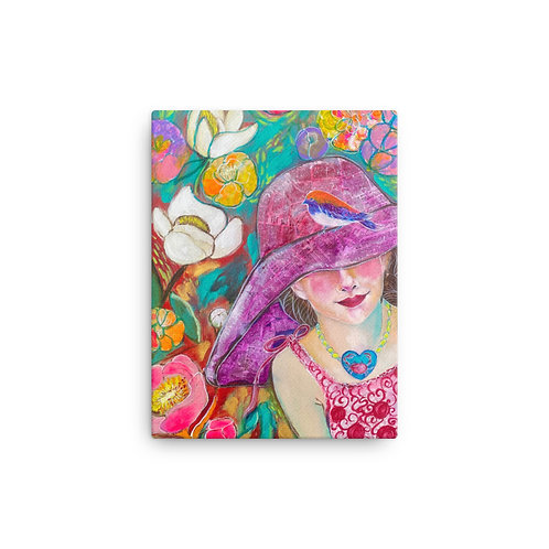 "Lola Burgos ""Untold Memories"" (Canvas Giclee)"