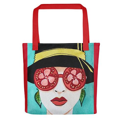 """Alicia Jungwirth """"Tomato & Basil"""" (Tote bag)"""