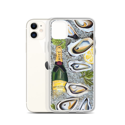 Champs and Oysters (iPhone Case) by Coco Martin