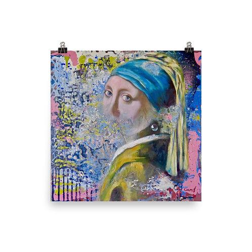Homage to Vermeer by Carol Greenwood