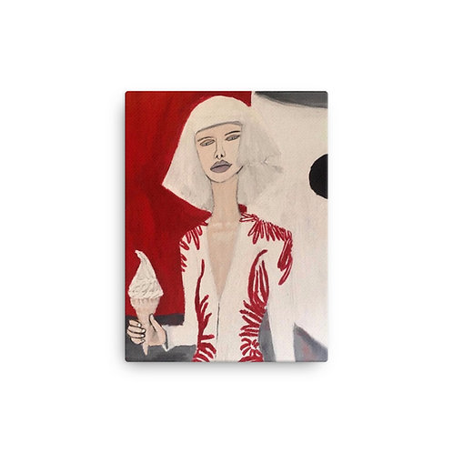 """Brittany Minnes """"Fashion Shoot"""" (Canvas Giclee)"""