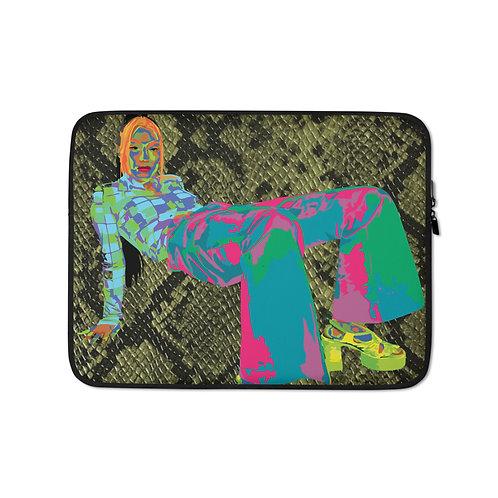 Snakeskin (Laptop Case) by Jay Clark