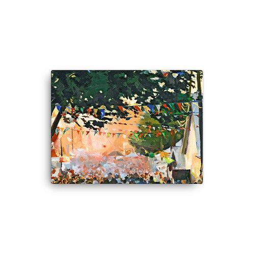 """Jennifer Lynn Beaudet """"Fairground"""" (Canvas Giclee)"""