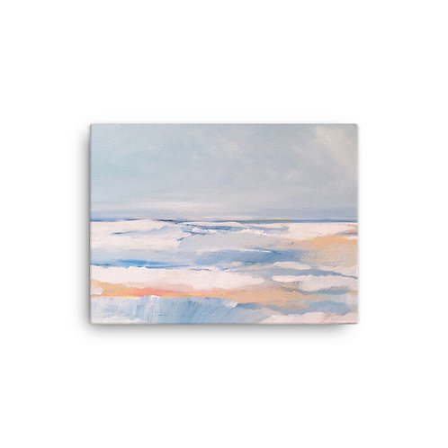 "Megan Elizabeth ""Tangerine Sea"" (Canvas Giclee)"